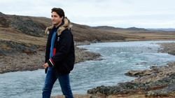 In Canada's Far North, Trudeau Says Climate Change Threatens 'Our