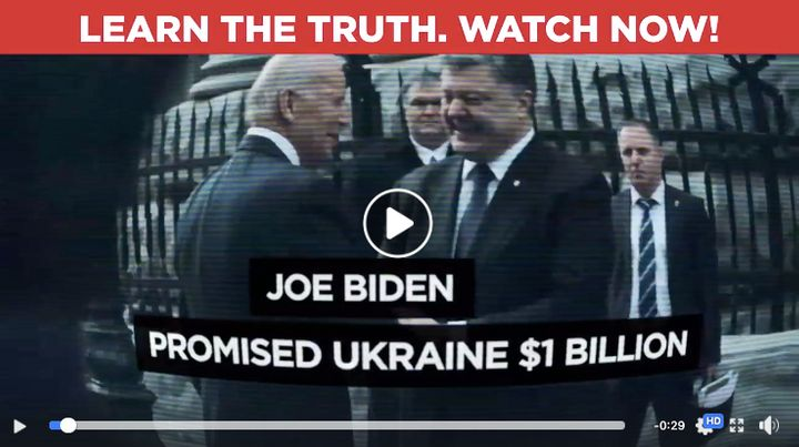 In a still-active Facebook ad, Trump's campaign spreads a flagrant falsehood about former Vice President Joe Biden.