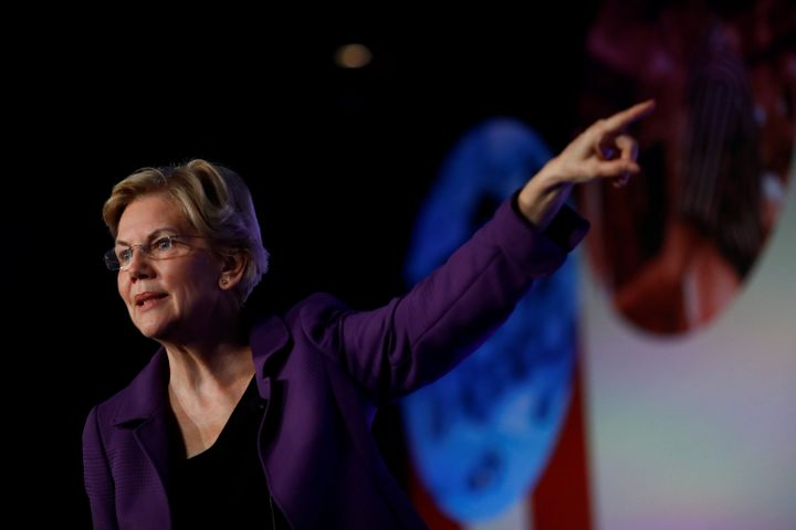Sen. Elizabeth Warren is calling for increased funding for research into the health effects of pollution by the Centers