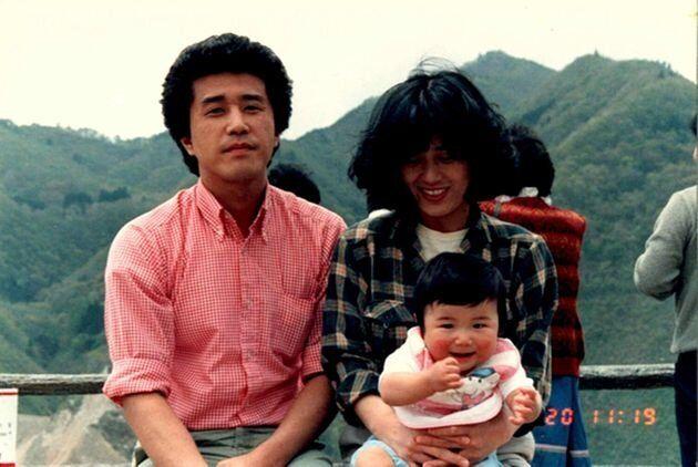 筆者と両親