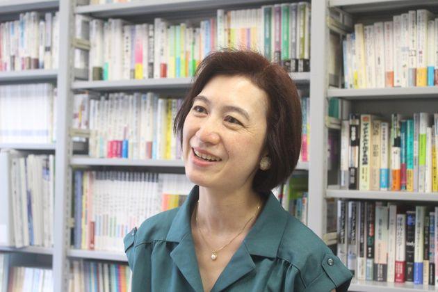 成蹊大学准教授の澁谷智子さん