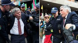 'Geriatric Rebel' Pictured In Iconic Image: 'I'm Doing This For My