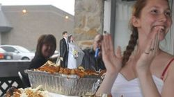 Make Way For This Crazy Poutine Wedding