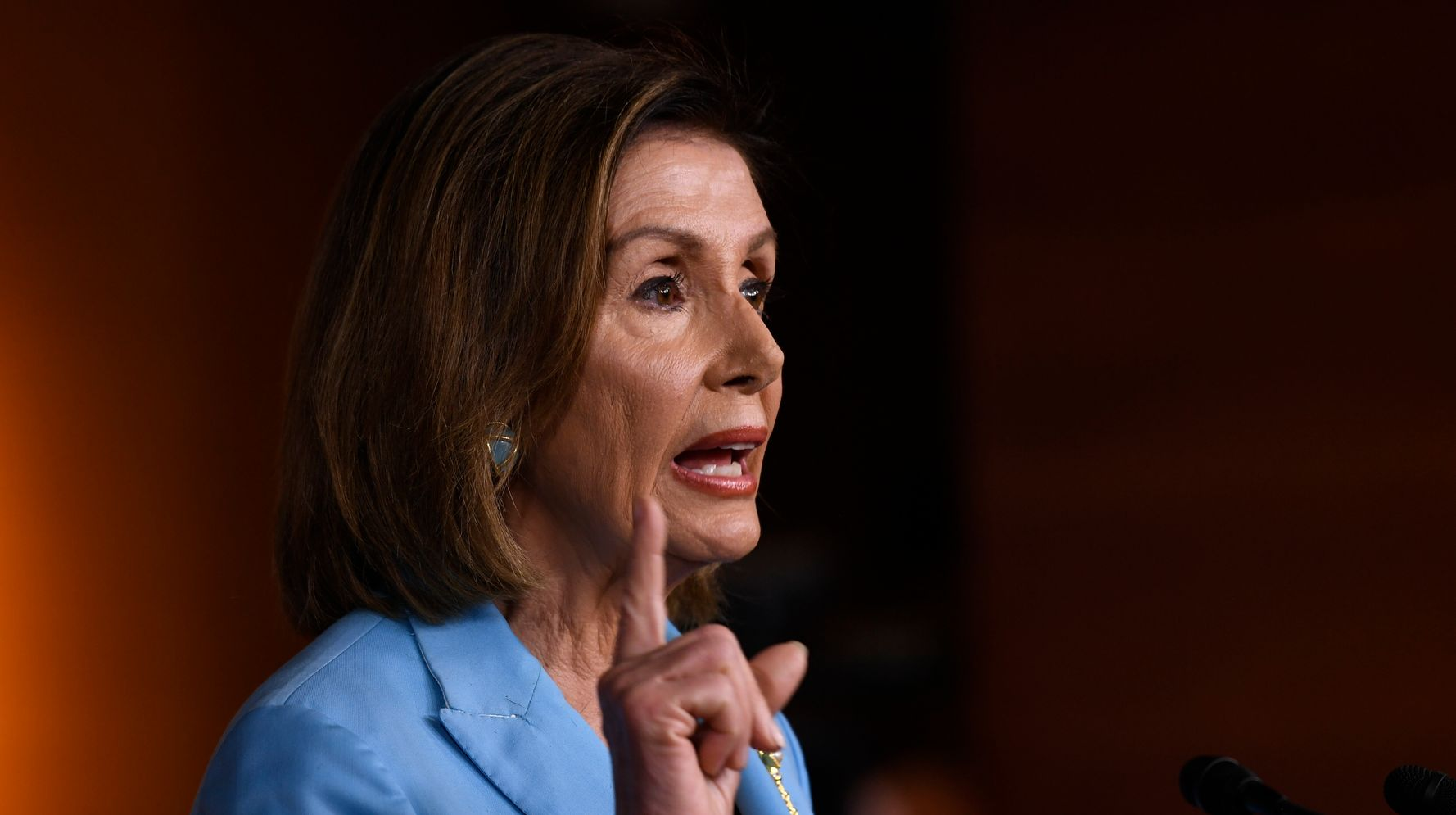 Westlake Legal Group 5d9d2de4210000a807ac8a21 Nancy Pelosi Calls Trump's Bluff: 'You Are Not Above The Law'