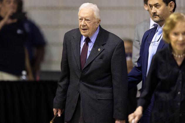 Jimmy Carter, ici le 18 septembre 2019 à Atlanta, a donné deux conseils à Donald