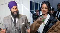 Jagmeet Singh Admits He Slid Into Rihanna's Instagram