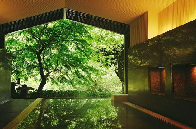 『界 箱根』の大浴場