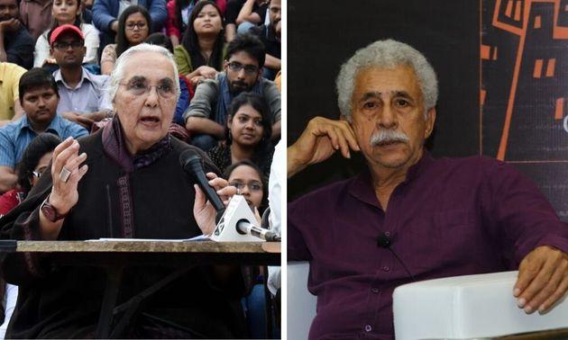 Romila Thapar, Naseeruddin Shah, Others Slam Sedition Case Against Celebrities In New Letter