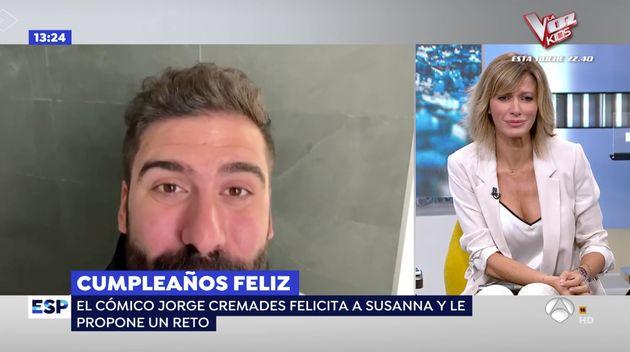 Susanna Griso, el 8 de octubre de 2019 en 'Espejo