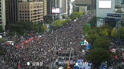 서울시 CCTV로 본 오늘(9일) 광화문 집회의