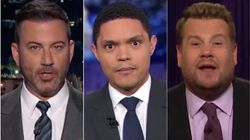 Late Night Hosts Find The Funny In Latest Trump Impeachment Inquiry