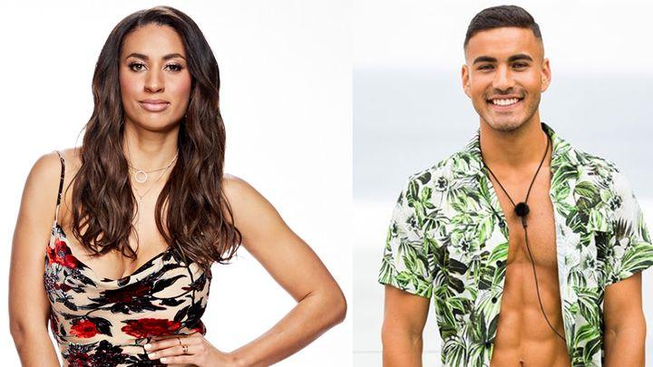 Love Island intruder Phoebe Thompson already knows contestant Maurice Salib.