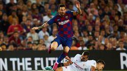 Messi se sintió