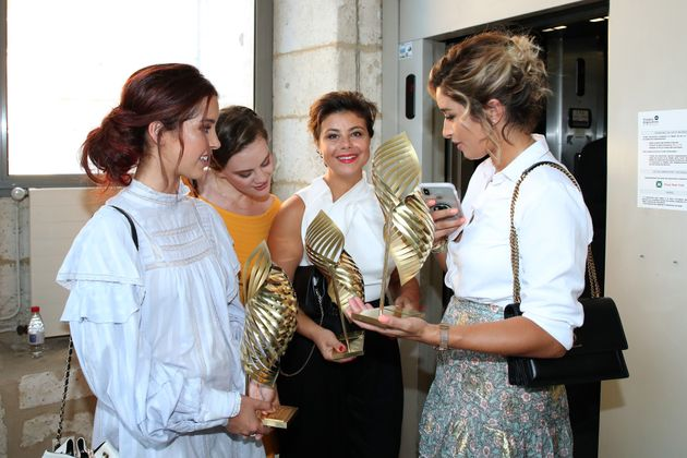ANGOULEME, FRANCE - AUGUST 25: Awarded of three Valois for