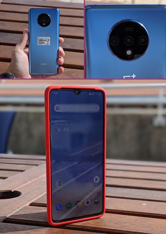 L'écran du OnePlus 7T occupe 86,43% de la face