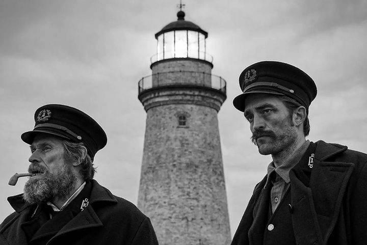 A still from The Lighthouse