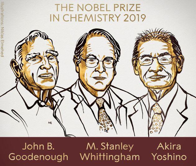 Le prix Nobel de Chimie récompense John B. Goodenough, Stanley Whittingham et Akira Yoshino pour la découverte...