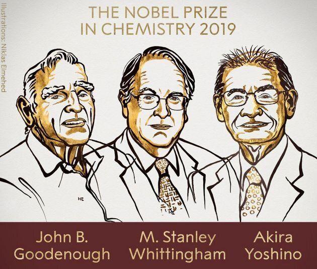 Le prix Nobel de chimie 2019 récompense l'invention des batteries au