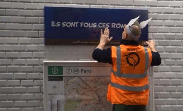 La RATP a rebaptisé 12 stations et réservé plusieurs surprises aux parisiens dans...