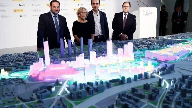 Presentación del proyecto urbanístico Madrid Nuevo