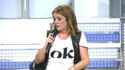 Toñi Moreno se cree que María Teresa Campos ha muerto y abandona llorando 'Mujeres y hombres y