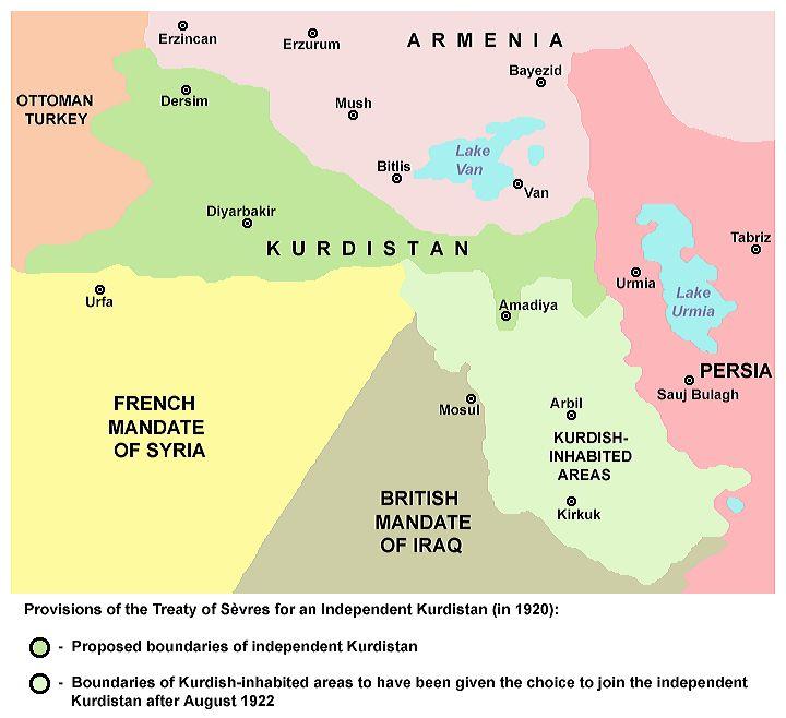 Συμφωνία των Σεβρών, 1920 (Wikimedia