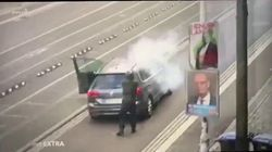 Scende dall'auto e inizia a sparare: l'attentatore di Halle ripreso dalla telecamere