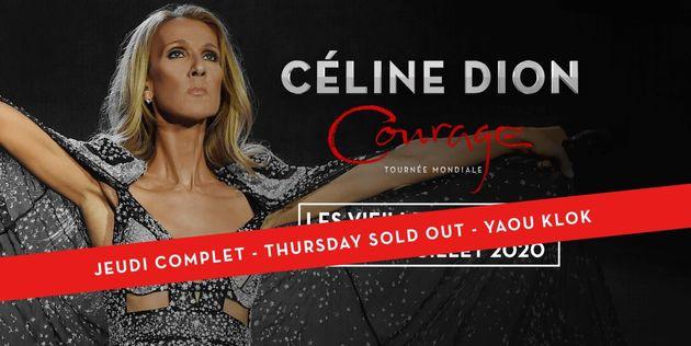 Le concert de Céline Dion aux Vieilles Charrues sold out en moins de dix