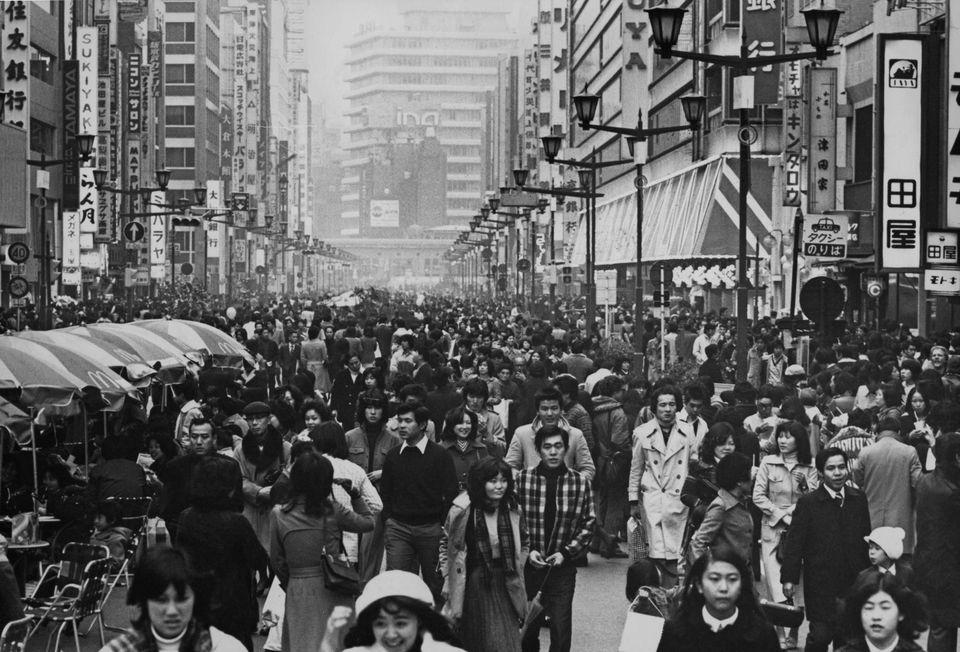 Ginza - Tokyo, Japan , κατά τη διάρκεια...