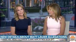 'Today' Show Hosts React To Matt Lauer Rape Accusation: 'We're Disturbed To Our