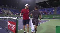 Murray ha accusato Fognini di urlare per distrarlo. E alla fine ha perso il match