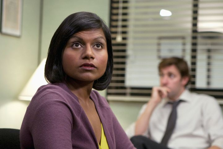 "Kaling as Kelly Kapoor in ""The Office."""