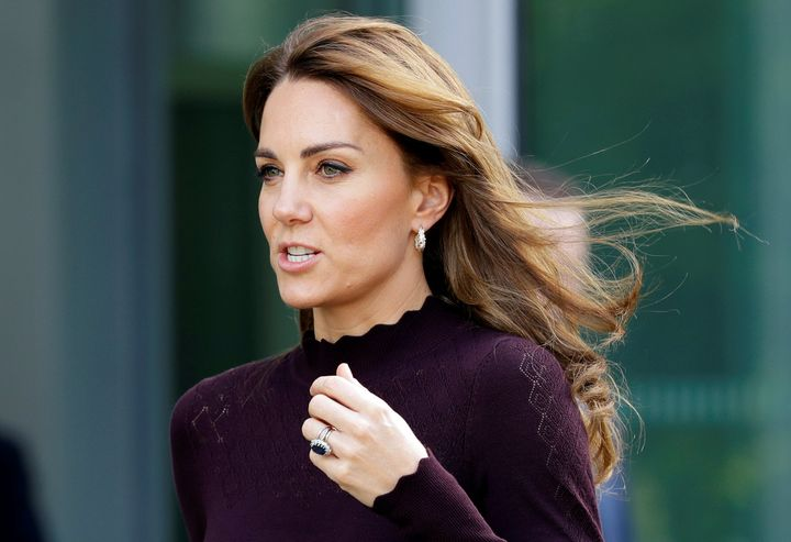 The Duchess of Cambridge visits the Angela Marmont Centre for UK Biodiversity at the Natural History Museum in London on