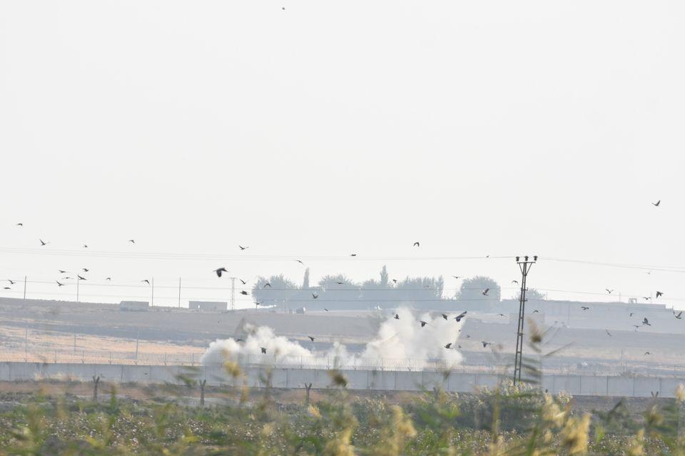 Τα πουλιά στη Συρία τρέπονται...