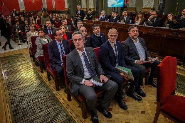 Juicio a los líderes del procés en la Audiencia