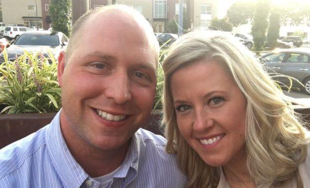 Kathy e Brandon Gunn estão casados desde o dia 1ª de setembro de