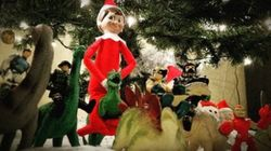 These Parents Seriously Upped The Elf-On-The-Shelf