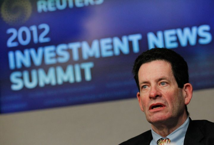 Kenneth Fisher, the founder, chairman and CEO of Fisher Investments, speaks at the Reuters Investment Outlook Summit in New Y