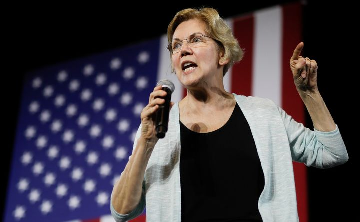 Sen. Elizabeth Warren (D-Mass.) said she was pushed out of her job teaching at a public school once she became visibly pregna