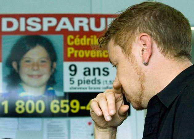 Martin Provencher s'adresse aux médias, en septembre 2007 à Trois-Rivières, quelques semaines après la...