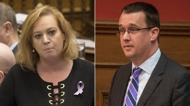 Ontario ministers Lisa MacLeod and Monte McNaughton told reporters Wednesday they are too busy running...
