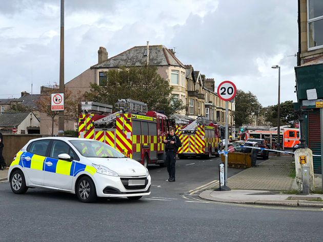 Morecambe Fire: Two Dead After Blaze At Working Men's Club In Lancashire