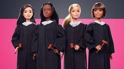 Mattel explora diversidade ao lançar Barbie versão juíza, com diferentes tons de pele e