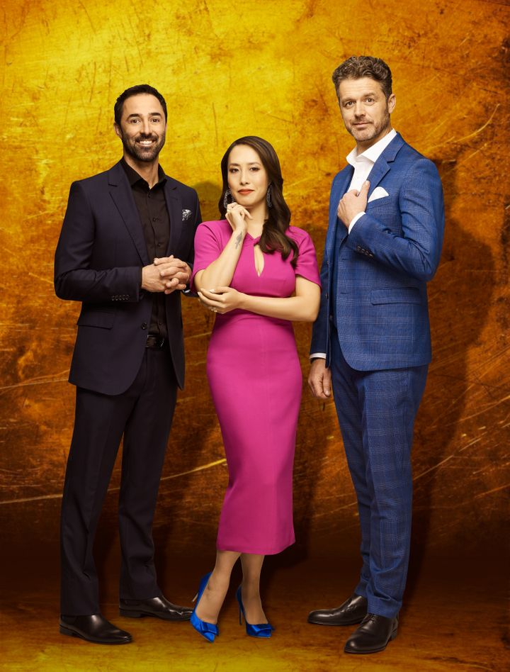 MasterChef's new judges for 2020: Andy Allen, Melissa Leong and Jock Zonfrillo.