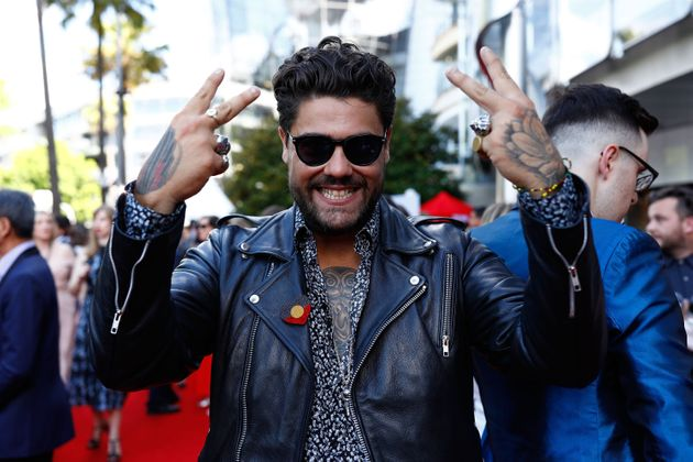 Dan Sultan at the ARIA Awards in