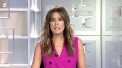 Isabel Jiménez (Informativos Telecinco) confiesa y enseña lo que no se vio de este