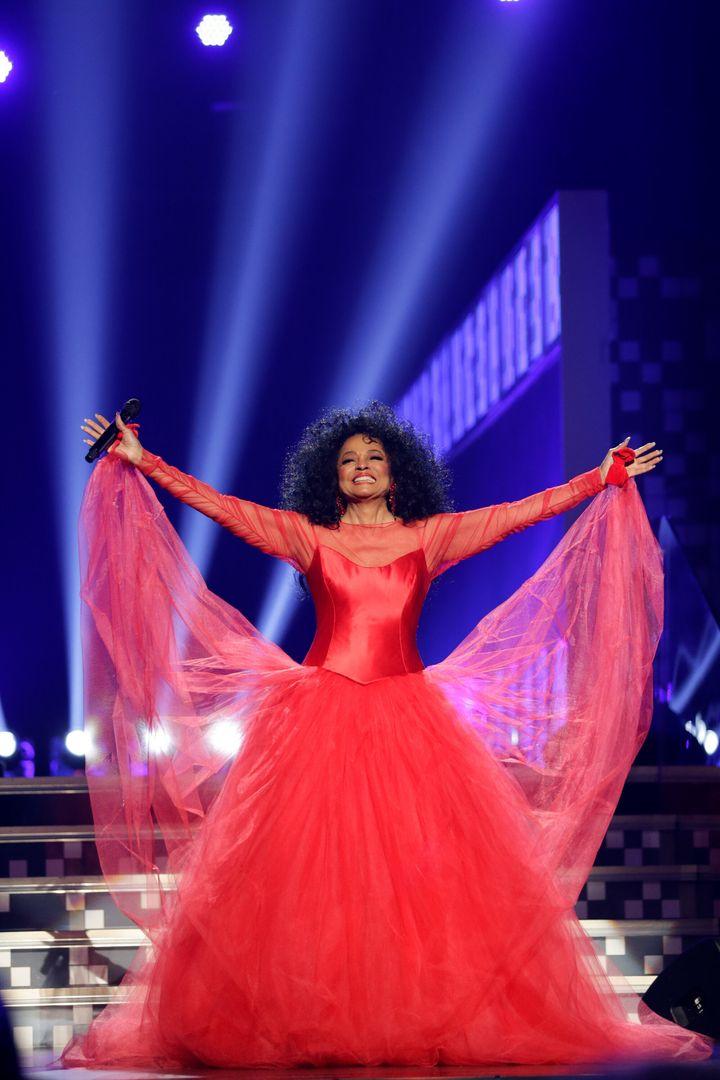The legendary Diana Ross