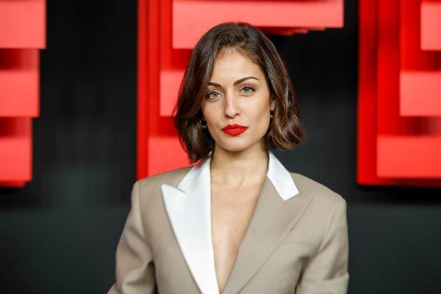 La actriz Hiba Abouk, fotografiada en Madrid el 4 de abril de
