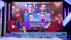 José María García pide ir a votar el próximo 10-N y lamenta el nivel mediocre de los