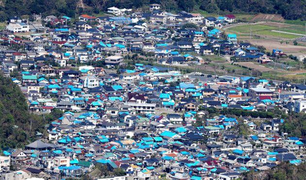迫る台風19号。またも…千葉の被災者「体がついていかない」
